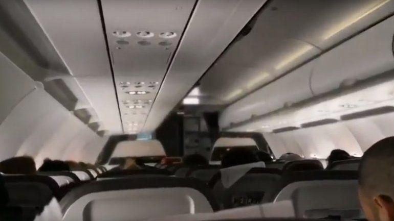 Así anunció un piloto chileno la derrota de Argentina en pleno vuelo