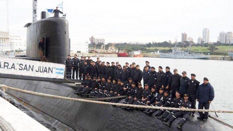 El Gobierno homenajeará a los 44 tripulantes del ARA San Juan