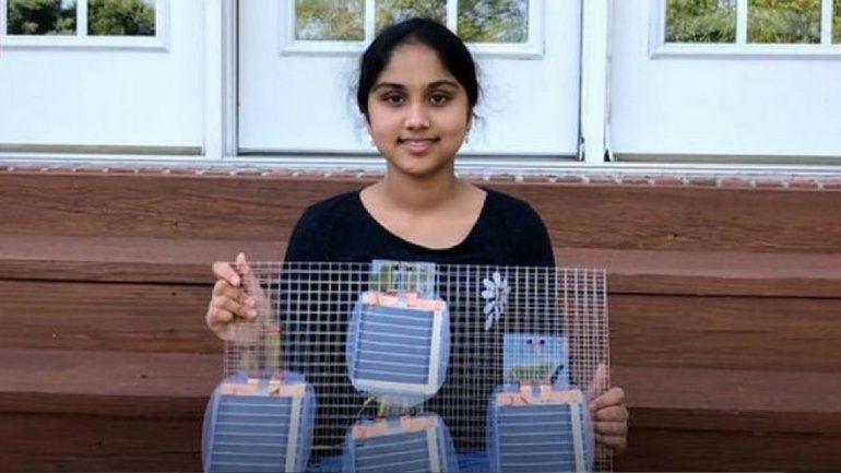 El ingenioso invento de una adolescente que podría dar luz a millones de personas en el mundo