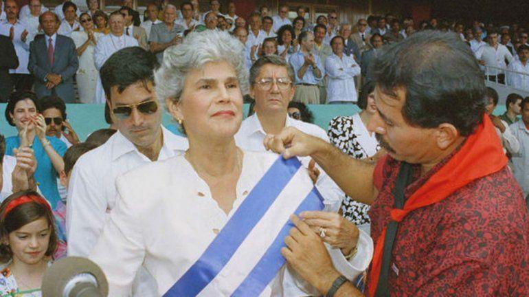 Violeta Chamarro - Nicaragua