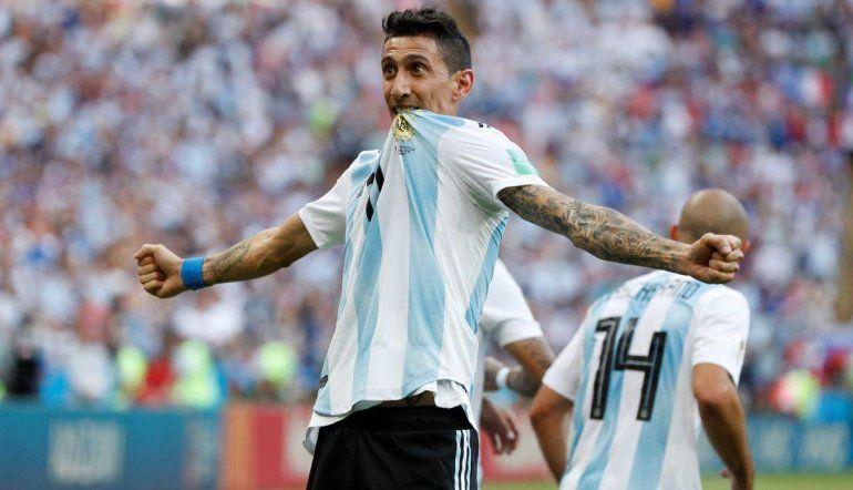 Ángel Di María agradeció a los hinchas argentinos