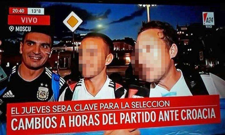 Es docente, pidió licencia psiquiátrica y se fue al Mundial: lo delataron sus fotos en las redes sociales