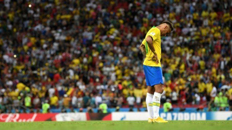 Explotaron las redes con la eliminación de Brasil en manos de Bélgica