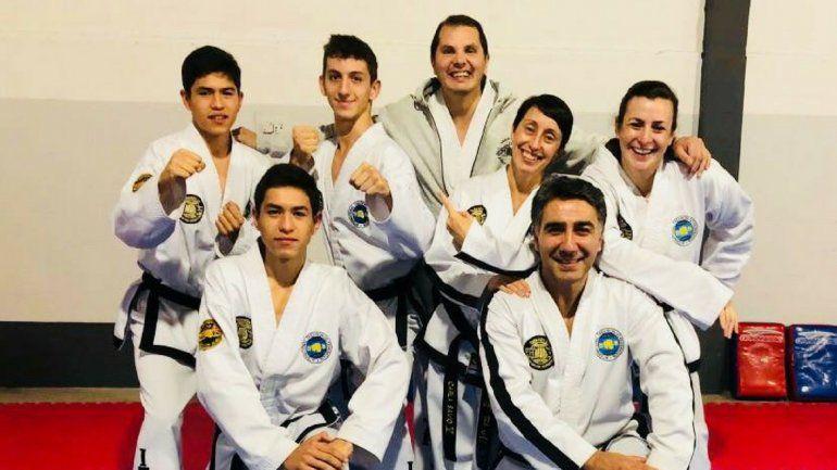Seis jujeños representarán a la Argentina en el Campeonato Mundial de Taekwon-Do ITF