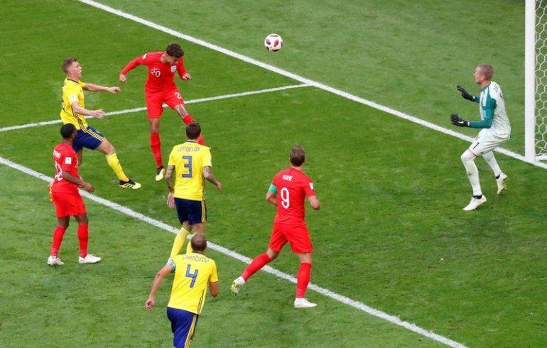 Inglaterra 2 – Suecia 0: los ingleses se meten en la semifinal