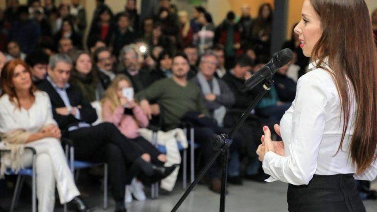 Victoria Onetto defendió su designación en Cultura y al intendente K que la nombró