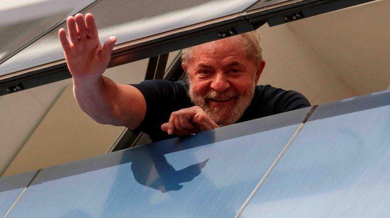 Ordenan liberar al expresidente de Brasil Lula da Silva
