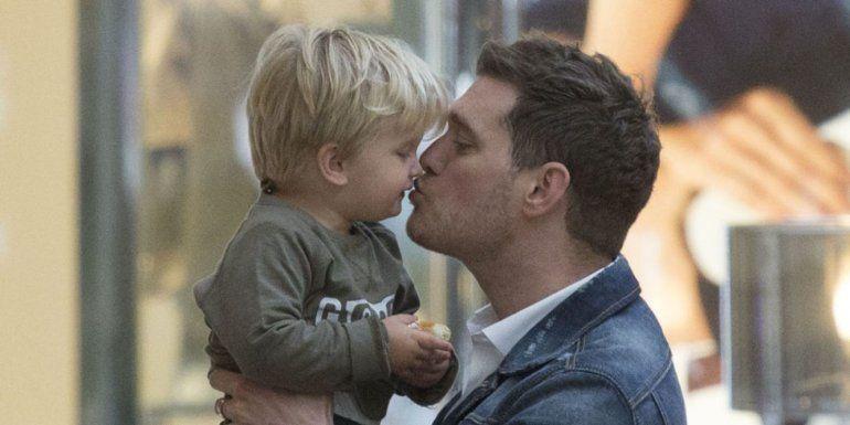 El conmovedor relato de Michael Bublé sobre el cáncer de su hijo Noah