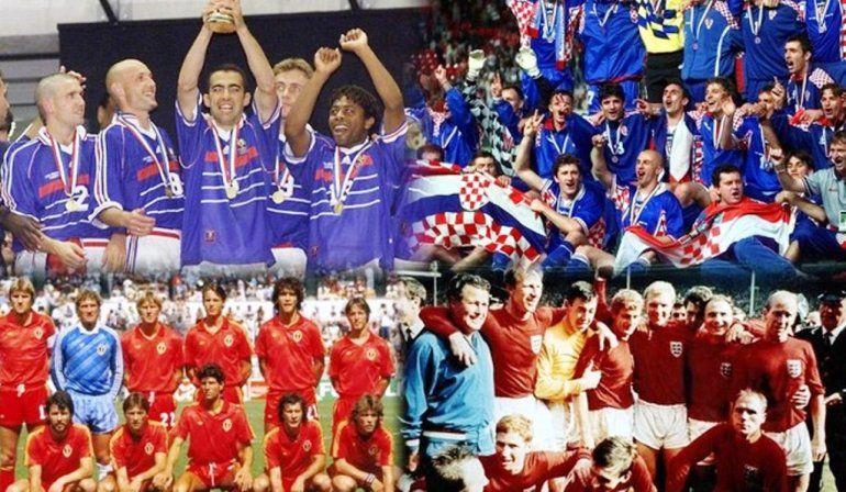 Mirá lo mejor de cada semifinalista a lo largo de la historia de los Mundiales