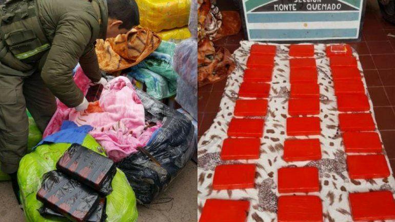 Llevaban droga en un tour de compras: la mercadería está valuada en más de 300 mil dólares