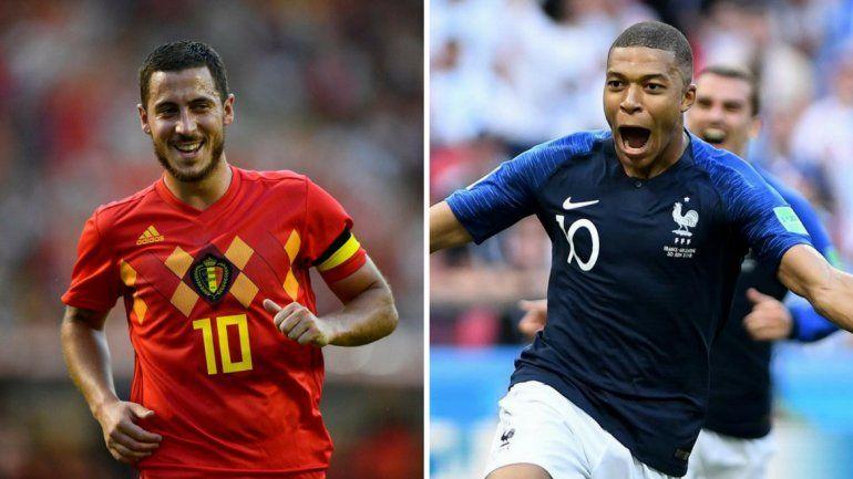 Francia y Bélgica, por un lugar en la gran final