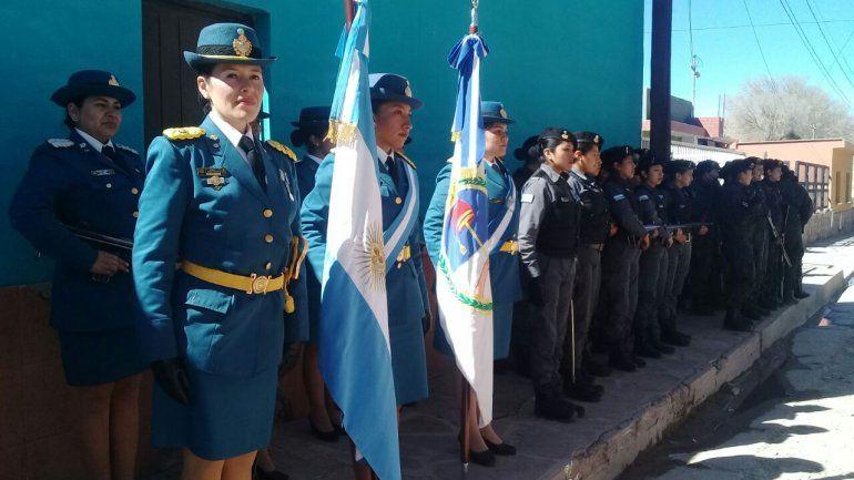 El Servicio Penitenciario fue representado por mujeres para reconocer su ardua tarea