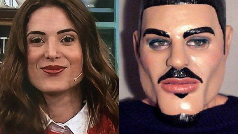 Jesica Cirio les contestó a quienes la compararon con Ricardo Fort por su cambio de look