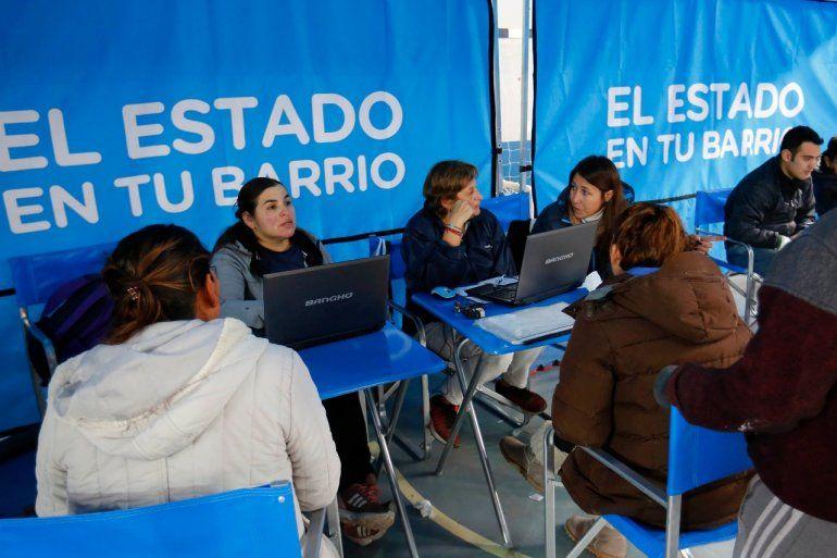 Desde el martes se podrá tramitar el DNI en una Plaza de San Pedrito