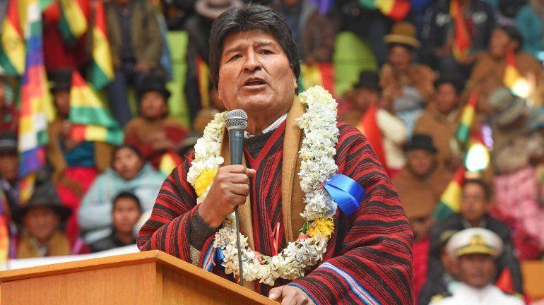 Evo Morales acusó a Argentina de instalar una base militar en Jujuy para amedrentar