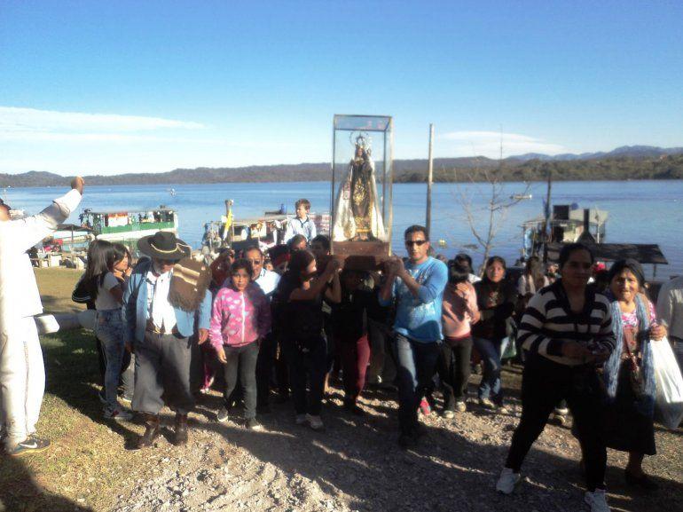 La Virgen del Carmen peregrinará por los diques Las Maderas y La Ciénega