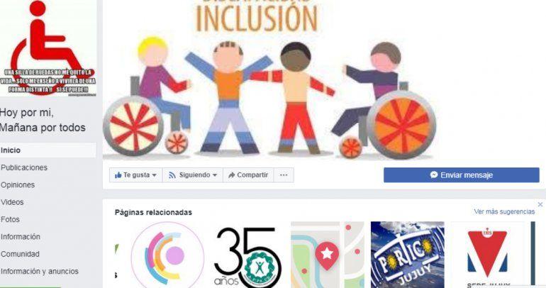 Crearon una página de Facebook para denunciar a los automovilistas estacionados sobre rampas