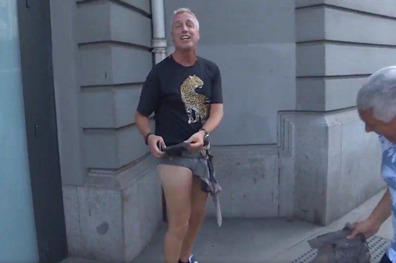 La broma que dejó a Marley al desnudo en las calles de Roma