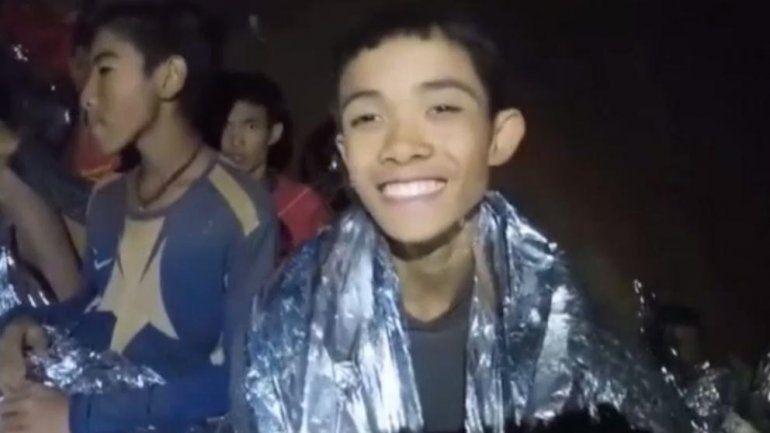Milagro en Tailandia: el primer relato de uno de los chicos sobre lo que pasó en la cueva