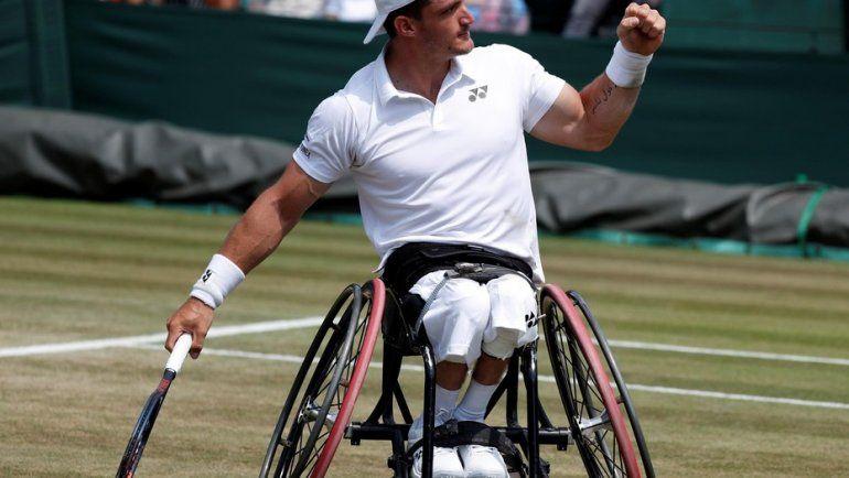 Gustavo Fernández jugará la final de Wimbledon
