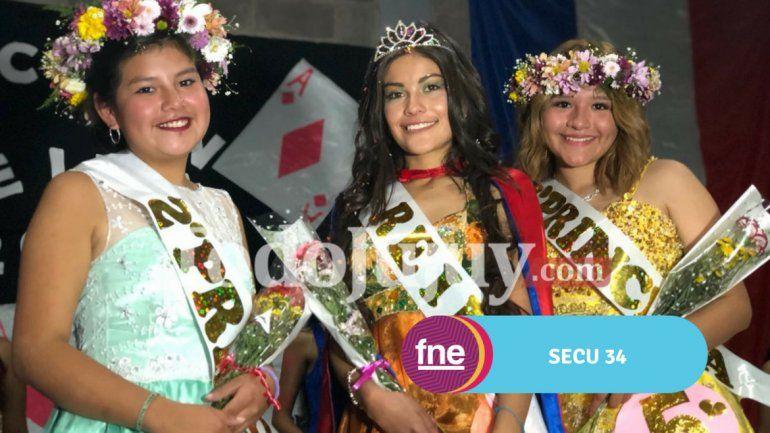 El Secundario Provincial n°34 tiene nueva reina y es Mariana Condorí