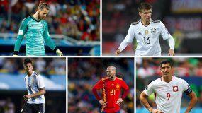Un medio inglés pone a dos argentinos entre los peores del Mundial