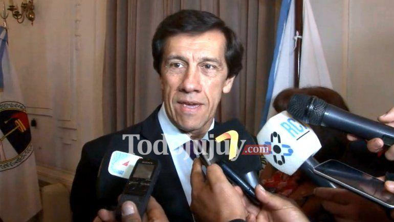 Carlos Sadir La provincia no está en condiciones financieras de pagar ese bono