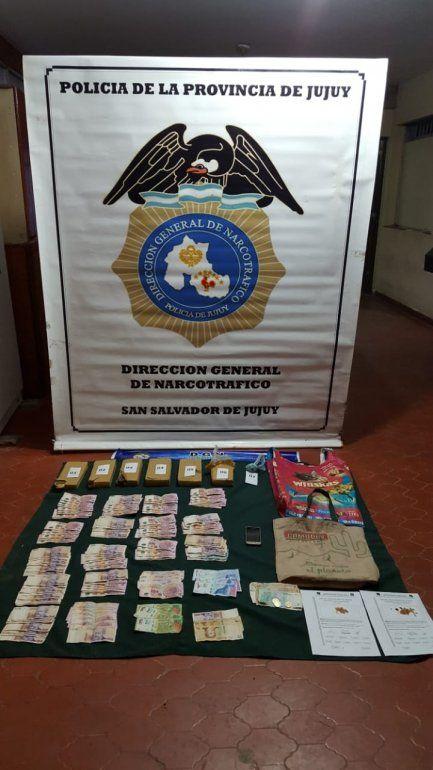 Persecución, secuestro de drogas y detención en el Barrio Luján