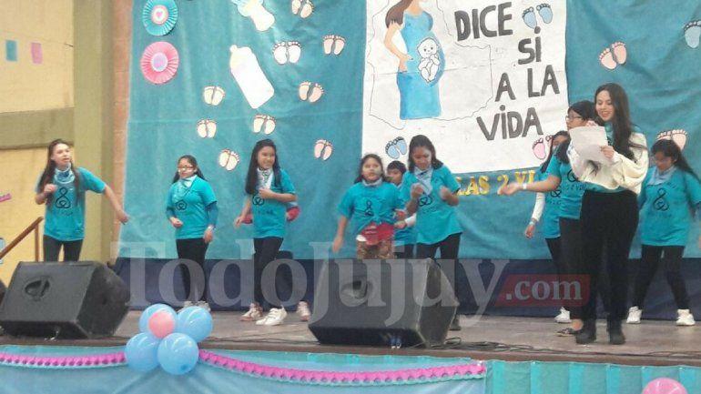 Se realizó el Festival a favor de las dos vidas en Jujuy