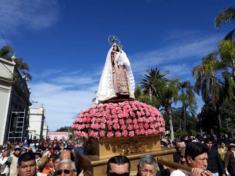En la ciudad de El Carmen se realizó la Octava en honor a su Santa Patrona