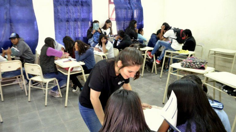 Los alumnos de 5to año podrán tener una doble certificación con cursos de capacitación laboral