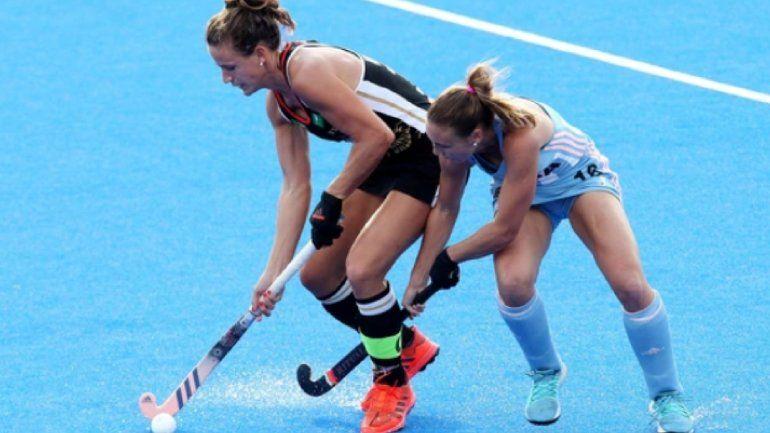 Las Leonas perdieron con Alemania en la segunda fecha del Mundial de hockey