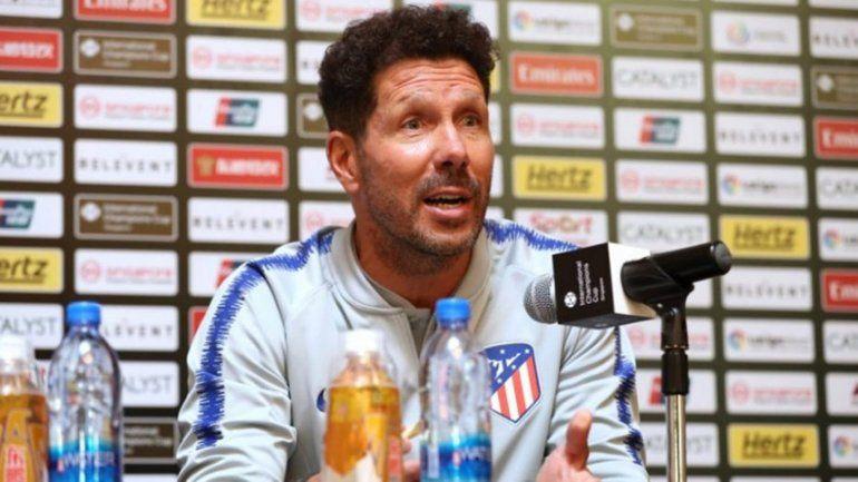 Diego Simeone, candidato a técnico del año