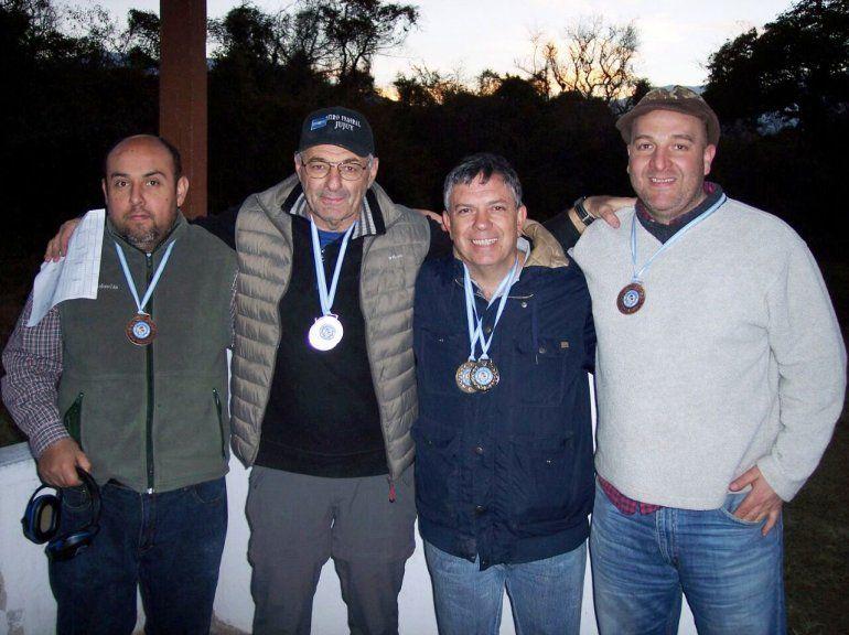 Tiro deportivo: Saúl Juste y Rodríguez Quiroga, los ganadores del finde