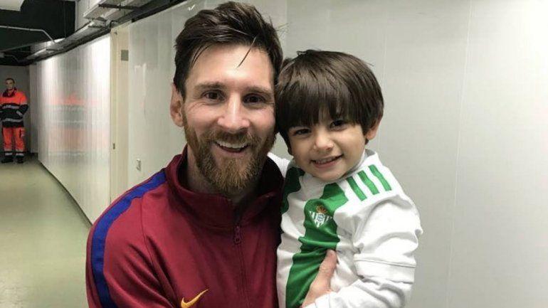 El gran gesto de Messi con el hijo de Andrés Guardado que se hizo viral en las redes