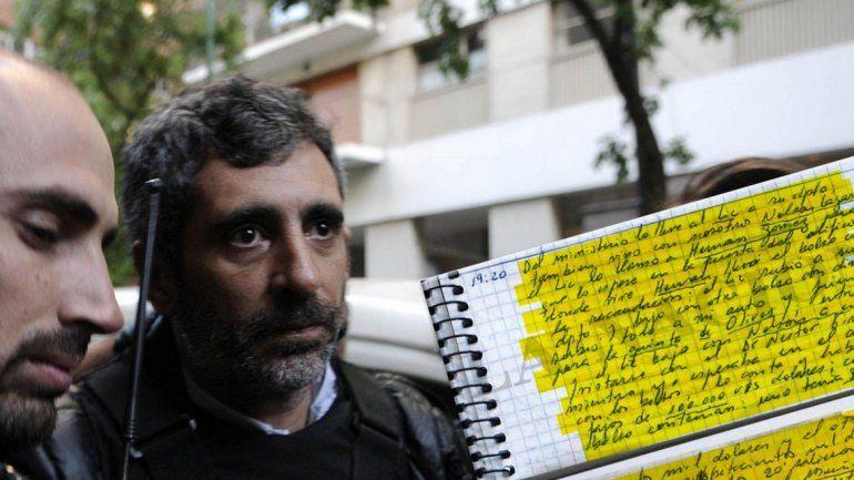 Los cuadernos de las coimas: ya son 12 los detenidos y realizan allanamientos