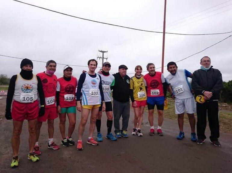Cinco medallas nacionales para Jujuy en el Campeonato Argentina Master de Marcha atlética