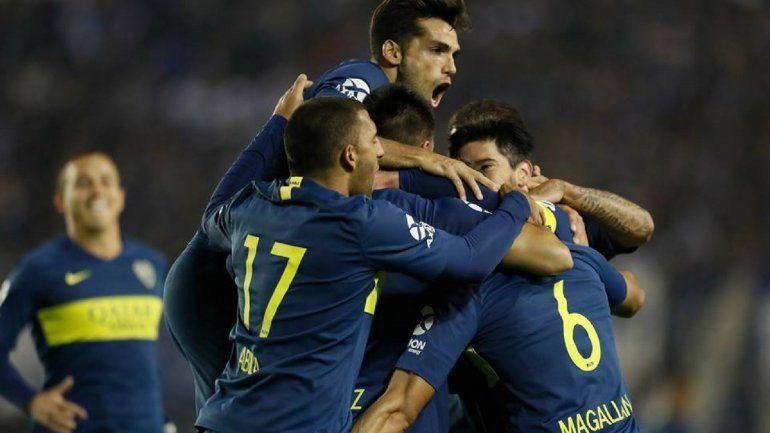 Goleada: Boca le ganó a Alvarado por 6 a 0