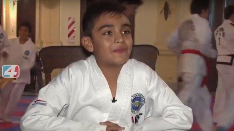 El deporte más allá del resultado: tiene 10 años y se convirtió en un ejemplo