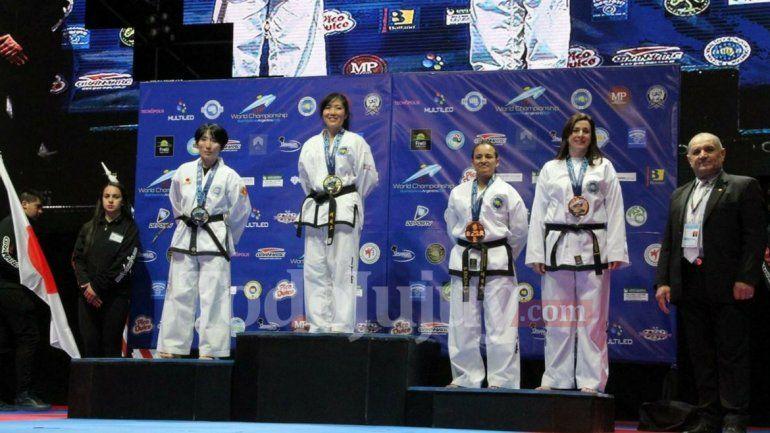 Mundial de Taekwon-Do: tres podios para Jujuy en la categoría seniors