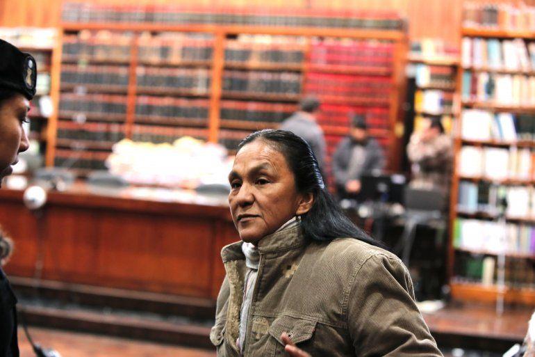 La semana que viene definirán donde continuará la prisión preventiva a Milagro Sala