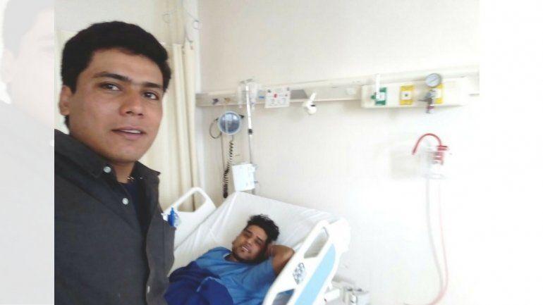 Delfin fue operado exitosamente y se recupera para volver a Jujuy