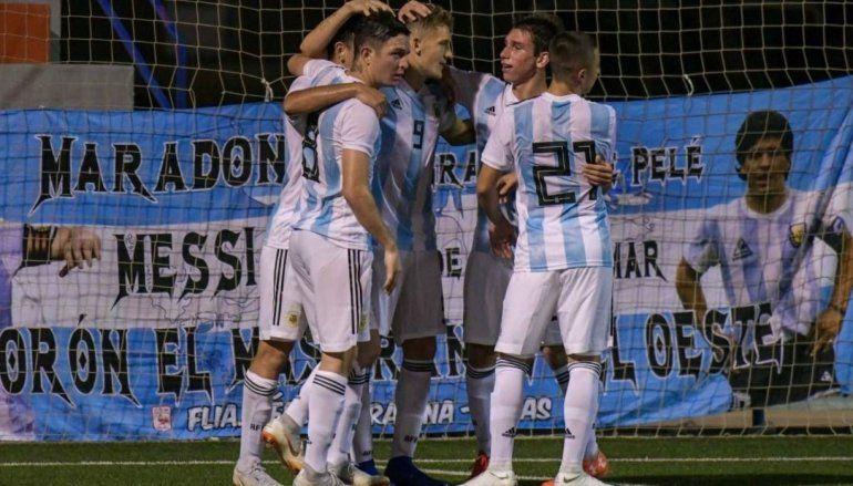 La Selección de Lionel Scaloni y Pablo Aimar sigue ganando en LAlcúdia