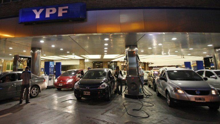 YPF aumentó el precio de sus naftas en todo el país