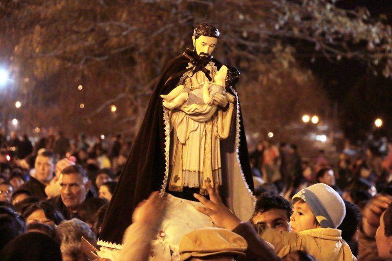 Misa, procesión y serenata en Palpalá para honrar a San Cayetano