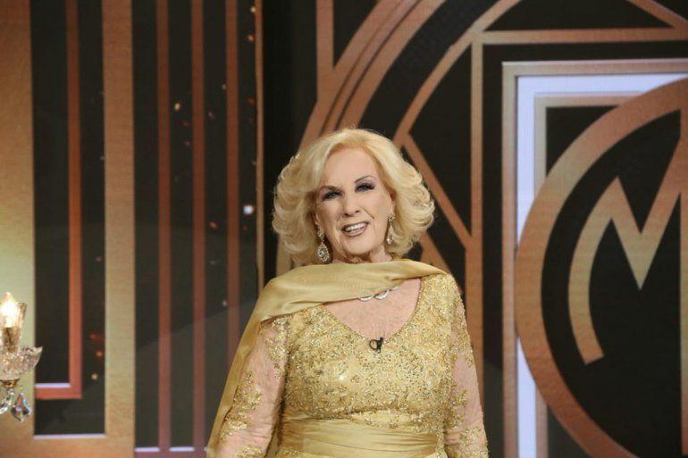 Mirtha Legrand participará esta noche de la cena oficial a pedido de la Reina de España
