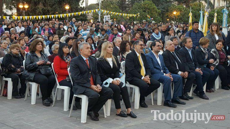 Gerardo Morales participó en la festividad del Santísimo Salvador y reafirmó su postura en relación al aborto