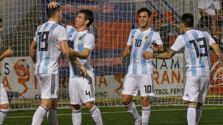 Sub 20: Argentina avanzó a la final de L´Alcúdia tras vencer a Uruguay en los penales