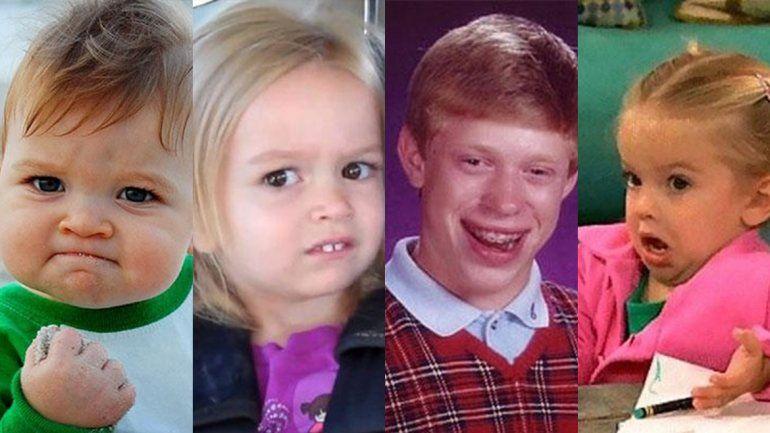 El antes y después: mirá cómo están hoy los protagonistas de los memes más famosos