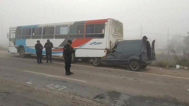 Cinco jujeños muertos en un accidente de tránsito en Salta